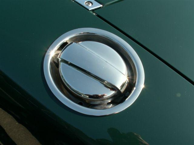 Obx Chrome Fuel Lid Door Cover Type I 90 97 Mazda Miata 1